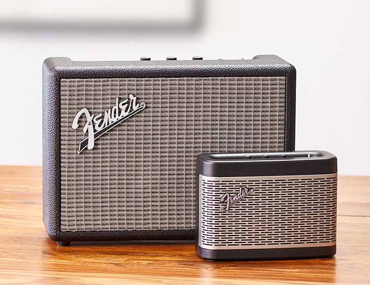 Fender Releases Their First Wireless Speakers at werd.com