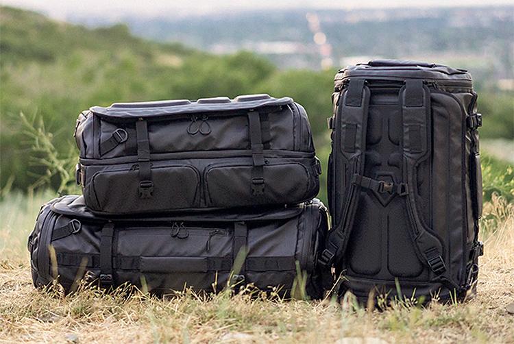 Pack Up & Get Gone: HEXAD Duffel Bags at werd.com