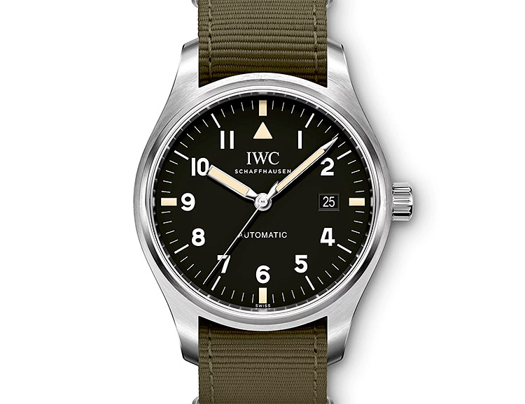 Paying Tribute to a Classic, IWC Revives Their Most Iconic Pilot's Watch at werd.com