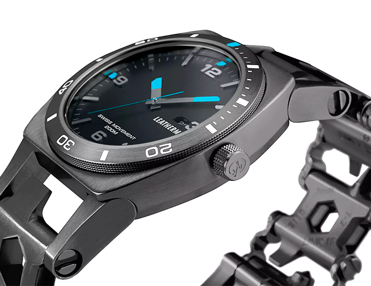 Leatherman Introduces New Wearable Multi-Tool Paired with a Watch at werd.com