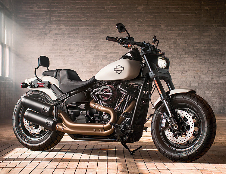 The 2018 Fat Bob is a Whole New Harley at werd.com
