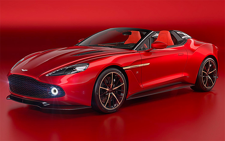 Aston Martin Unveils Two New Vanquish Zagato Models at werd.com