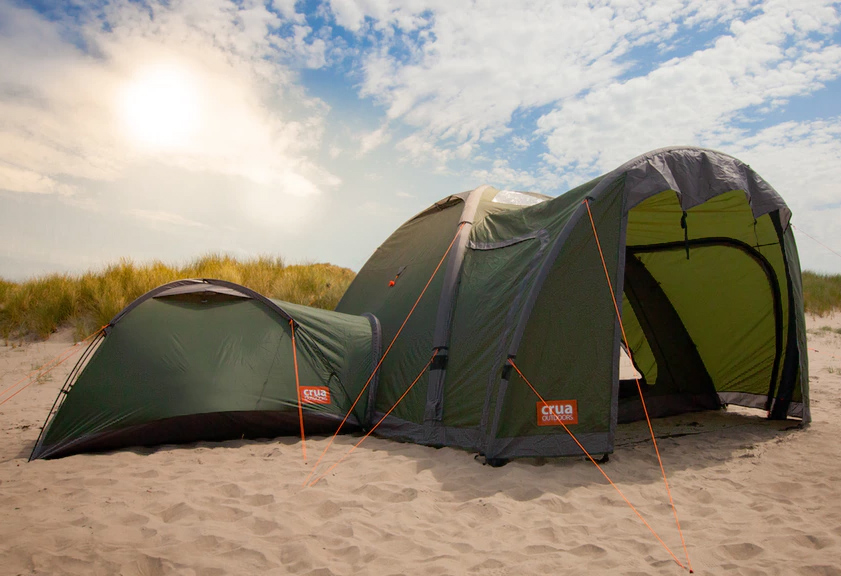 This Modular Tent System Has Space For The Whole Clan at werd.com