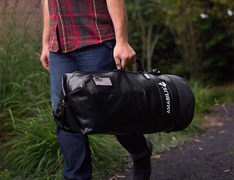 The Dave Duffels from Amibilis are Homegrown & Heavy-Duty at werd.com