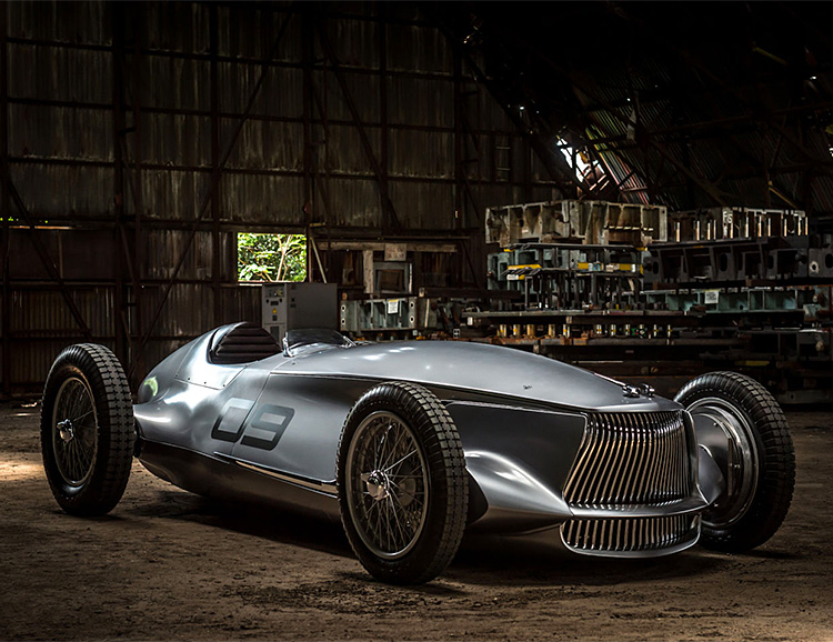 Infiniti's Prototype 9 Electric Merges the 1940s with the Future at werd.com