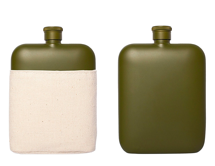 The Izola Flask Is Stylish. Also Stealth. at werd.com