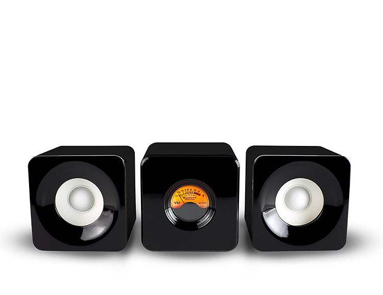 This Bluetooth Audio System has a VU Meter and That's Cool at werd.com