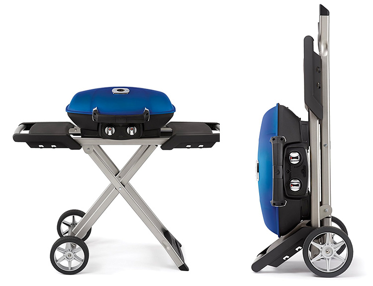 Napoleon's TravelQ 285 is Made for Gourmet Grilling on the Go at werd.com