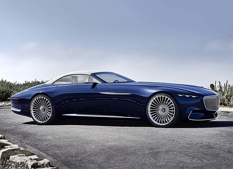 Vision Mercedes-Maybach Unveils Cabriolet 6 Concept at werd.com