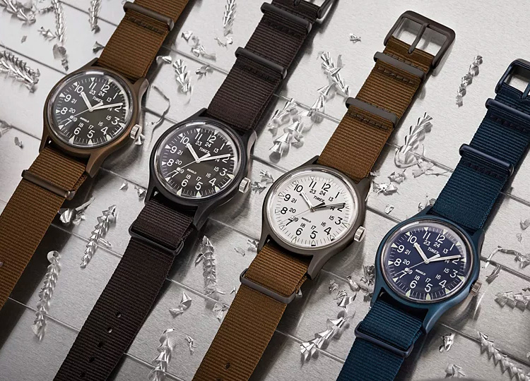Timex Revives a Military-Grade Classic with the MK-1 Aluminum at werd.com