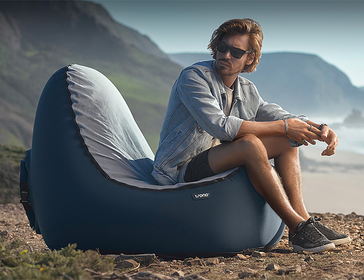 Sit On a Cushion of Air in the TRONO Chair at werd.com