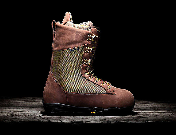 Burton & Danner Team Up on a Hiker-Inspired Snowboard Boot at werd.com