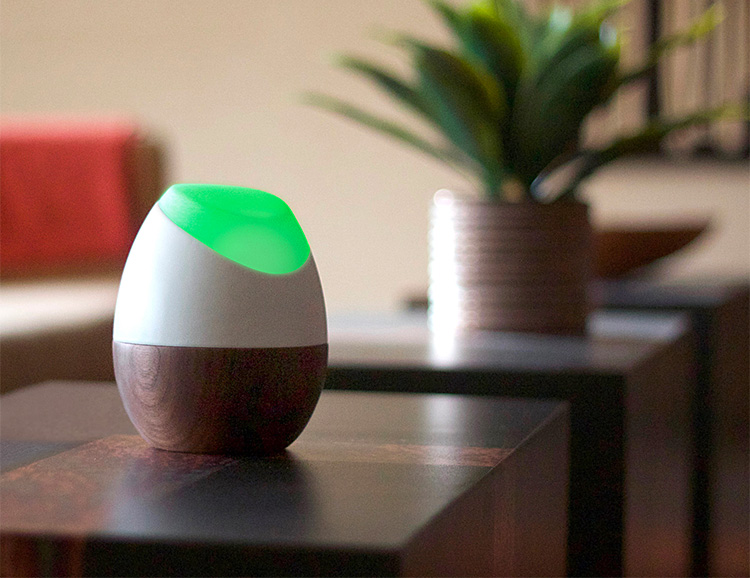 The Glow Smart Home Energy Tracker Delivers Usage Data In Living Color at werd.com