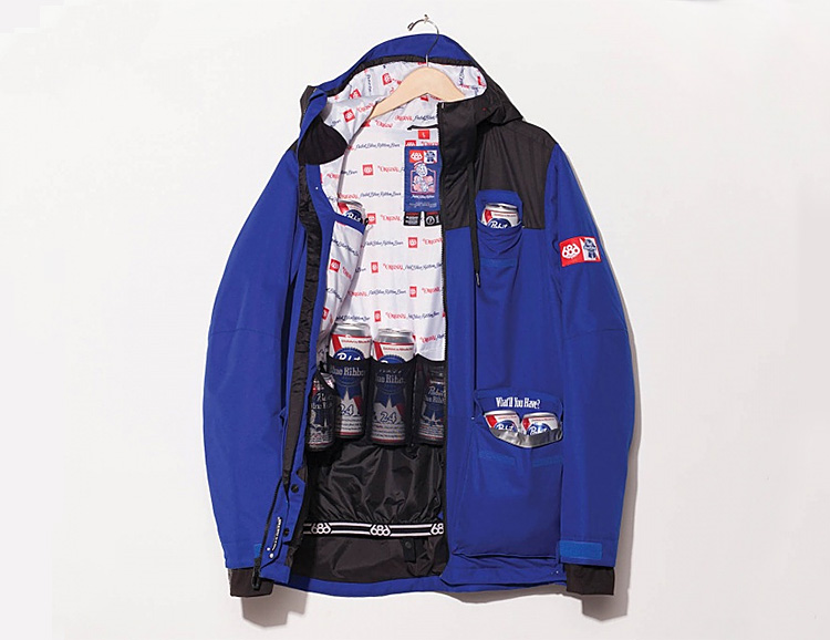 The Sixer Jacket from 686 is also a Cooler at werd.com