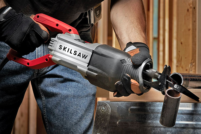 Cut More, Shake Less Using Skilsaw's Buzzkill Reciprocating Saw at werd.com