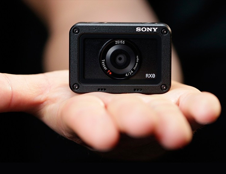 This Little Black Box is Sony's RXO Action Camera at werd.com