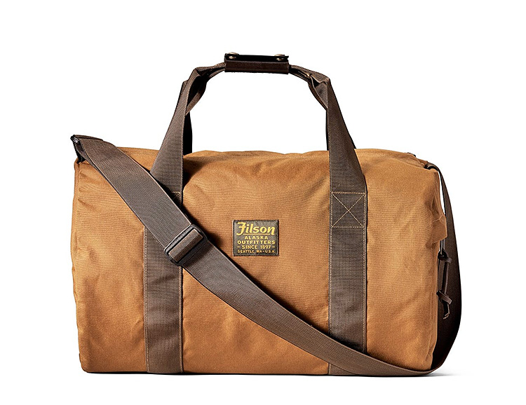 The Barrel Pack Duffle Delivers Filson Durability in a Lightweight Design at werd.com