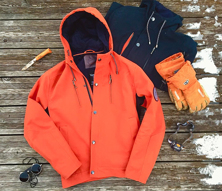 Jago Jackets Revive The Fabric That Conquered Everest at werd.com
