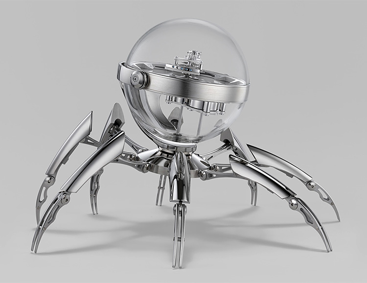 This Octopod is a Clock, Obviously at werd.com
