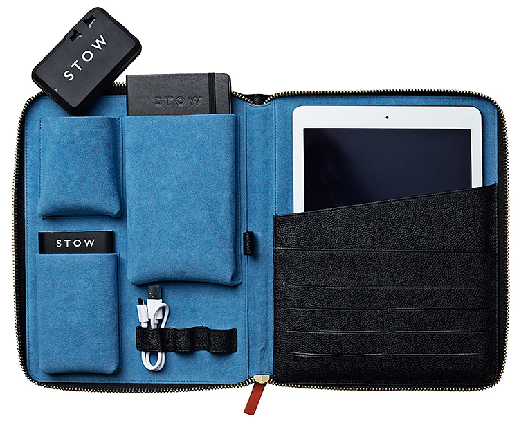 This Leather Tech Case is a Premium Way To Transport Your Tablet at werd.com