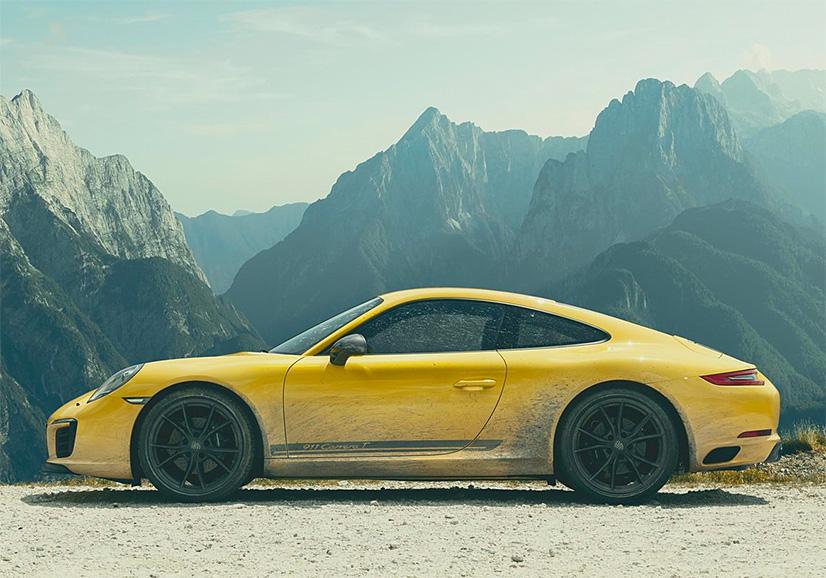 The 2018 911 Carrera T is the Lightest 911 Porsche Has Ever Built at werd.com