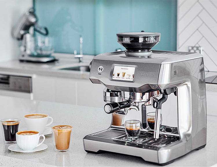 Breville Introduces Oracle Touch, a Foolproof Home Espresso Machine at werd.com