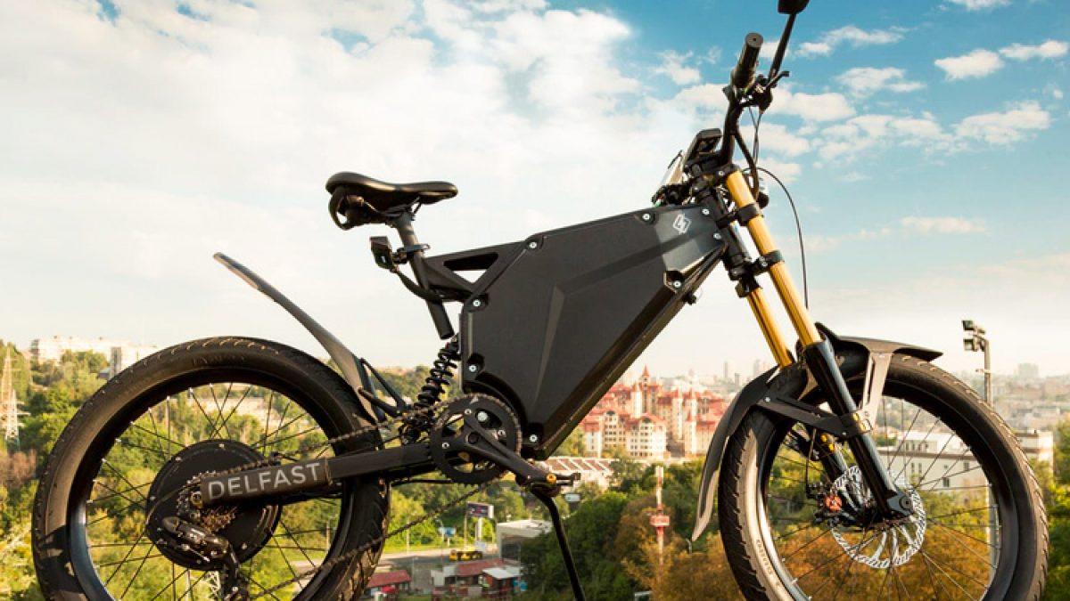 The Delfast E-bike is a Roadtrip Machine