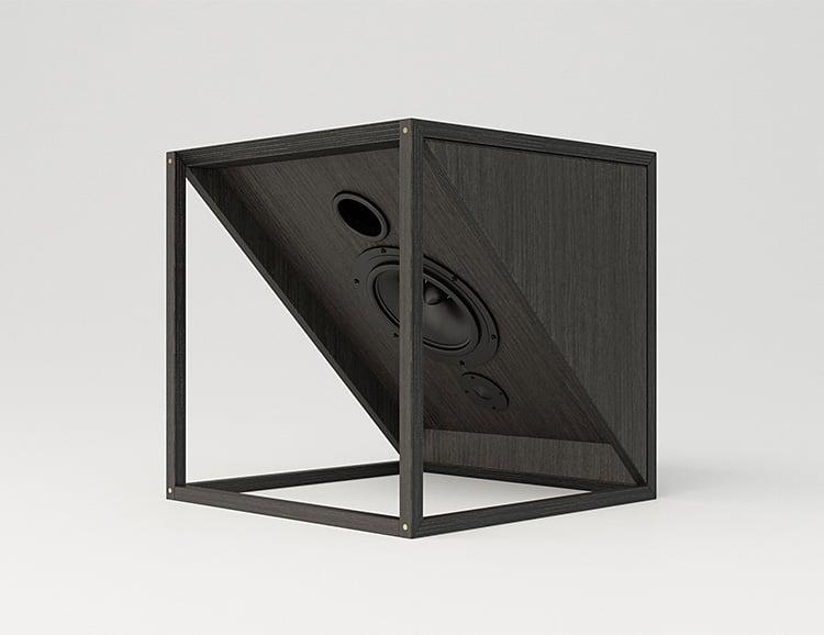 The M1 from JLA is Designer Hi-Fi Furniture at werd.com