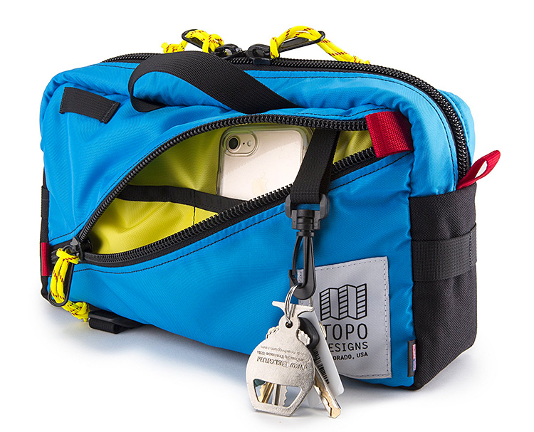 Topo Designs' Quick Pack is a Classic & Versatile Compact Carryall at werd.com