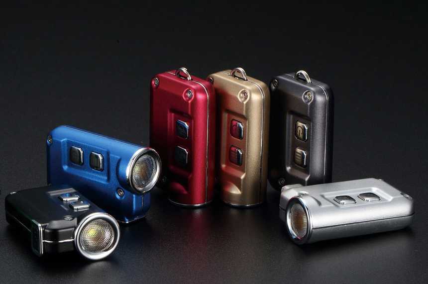 This Lightweight & Ultra-Compact EDC Flashlight is Tini at werd.com