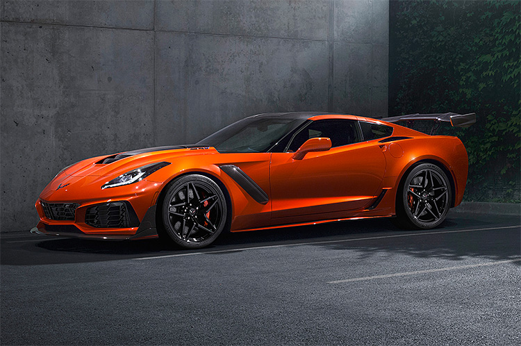 Behold the Supercharged 2019 Corvette ZR-1 at werd.com