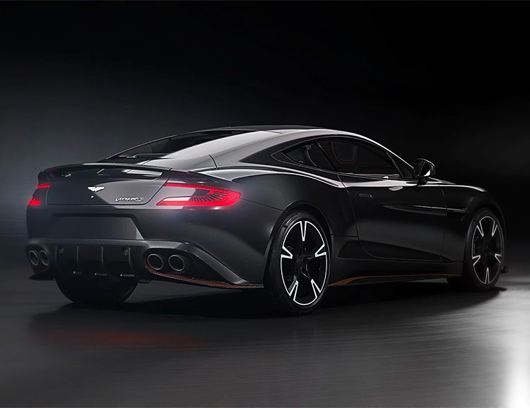 Aston Martin's Vanquish S Just Got An Ultimate Upgrade at werd.com