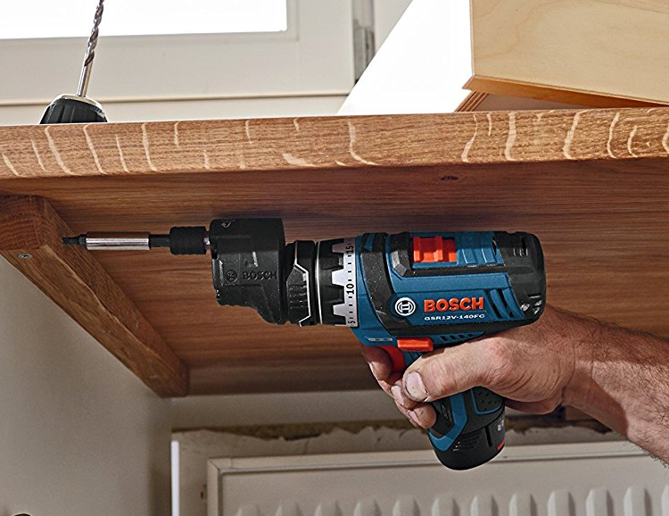 This Bosch Max Flexiclick 5-In-1 Drill Gives You Power at Every Angle at werd.com