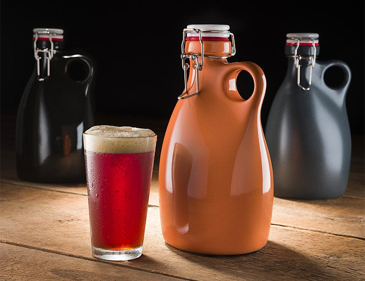 Keep Your Craft Beer in a Craft Growler at werd.com