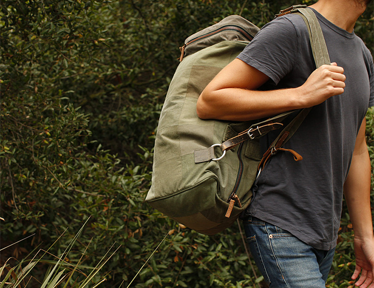 Designer Stephen Kenn's Latest Bag Collection Combines Military Surplus & Style at werd.com