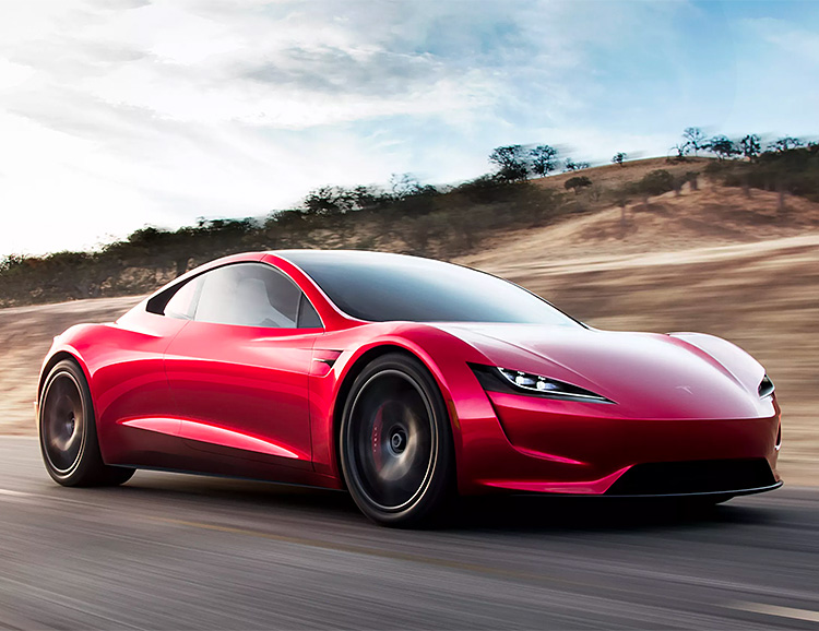 Tesla Unveils the 2nd Generation Roadster, the World's Fastest Production Car at werd.com