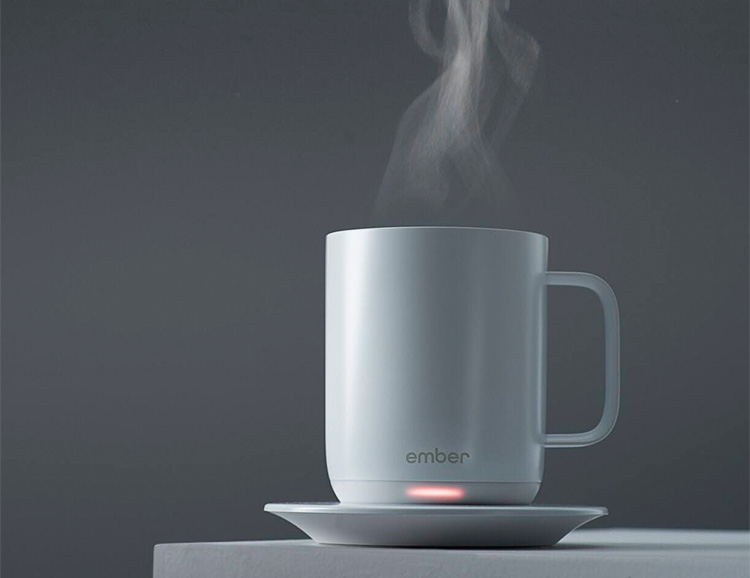 Hot Coffee 24/7: The Ember Ceramic Mug at werd.com
