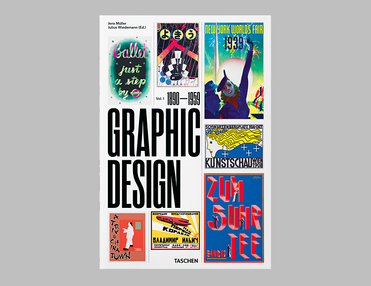 Taschen Introduces Volume One in a New Series: A Visual History Of Graphic Design at werd.com