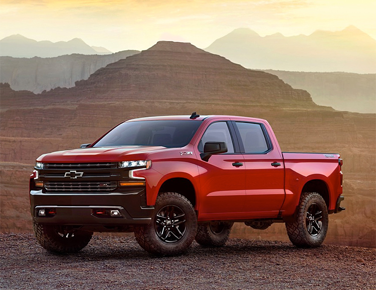 Chevy Gives Their Silverado a Fresh, New Look for 2019 at werd.com