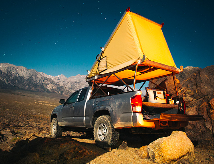 Go Fast Campers Turn Your Truck Into a Pop-Top at werd.com