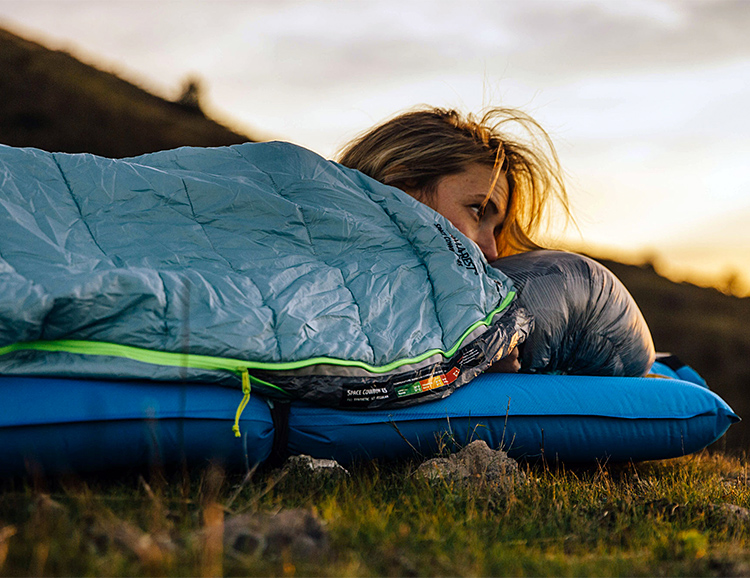 Therm-A-Rest Designed a Lightweight Bag for Sleeping Under The Stars at werd.com