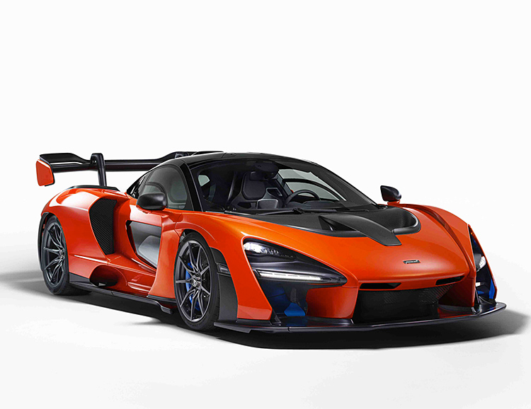 McLaren Introduces the Senna at werd.com