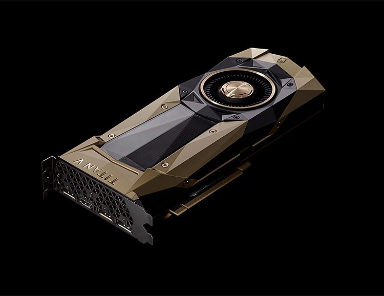 The Titan V Graphics Card from Nvidia Brings a Super GPU to the Masses at werd.com