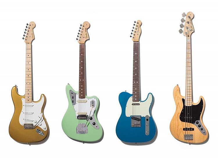 Fender's American Originals: Re-Creations Of Their Most Iconic Guitars at werd.com
