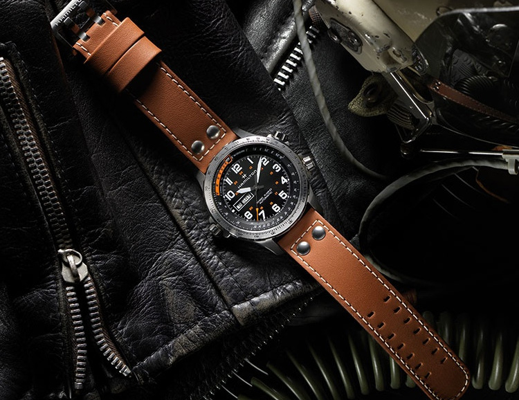Hamilton Introduces a Limited Khaki Chronograph with an All-New Movement at werd.com