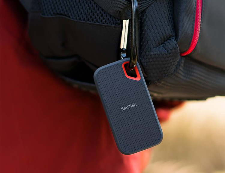 The SanDisk Extreme Portable SSD is Built Tough for Action On-The-Go at werd.com