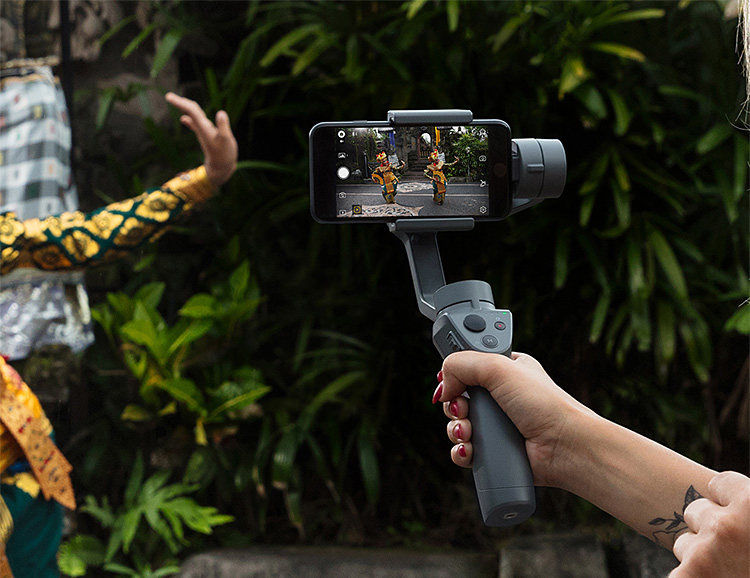 This Gimbal Turns Your Phone Into a Cinematic Camera at werd.com