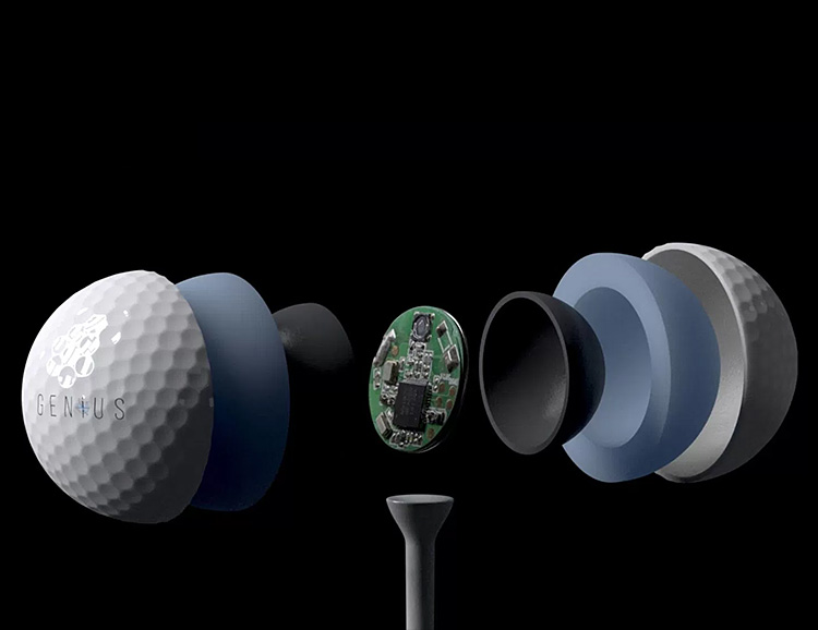 OnCore's GENiUS is the World's Smartest Golf Ball at werd.com