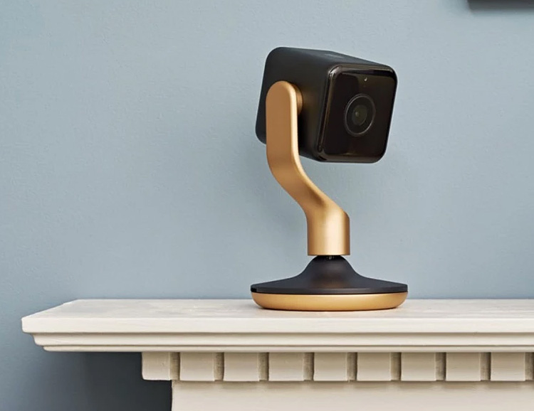 The Hive View Camera Blends Stylishly Into Your Home at werd.com