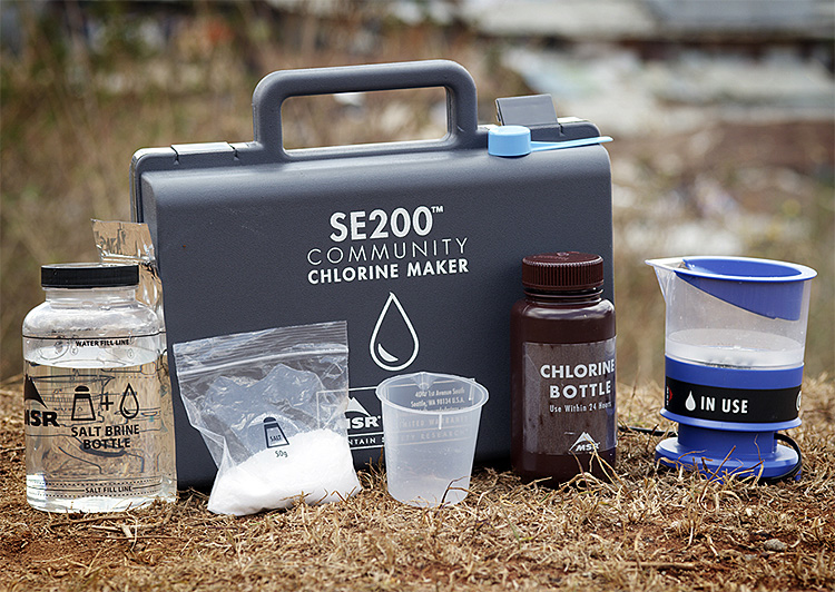 This Portable Chlorine Maker from MSR Produces Safe, Clean Drinking Water at werd.com